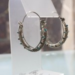 Double Coil Hoop Earrings - Week 2 Heather Morales